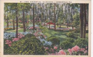 Florida Jacksonville The Oriental Gardens Curteich