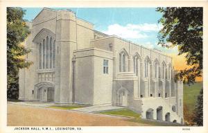 D63/ Lexington Virginia Va Postcard c1910 V.M.I. Jackson Hall Building