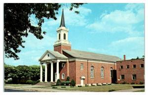 Westmoreland Baptist Church, Huntington, WV Postcard *5F2