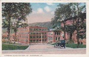 Vermont St Johnbury Fairbank Scale Factory