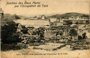 CPA AK Taza - Vue Partielle sur l'Interieur de la Ville MAROC (963994)