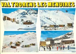 France, Val Thorens Les Menuires, unused Postcard
