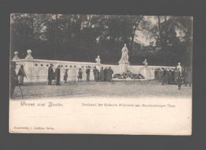 079827 GERMANY Gruss aus Berlin denkmal der Kaiserin Friedrich