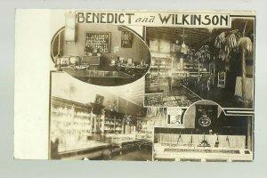 Sioux Falls SOUTH DAKOTA RPPC c1910 ADVERTISING Jeweler Watches INTERIOR STORE