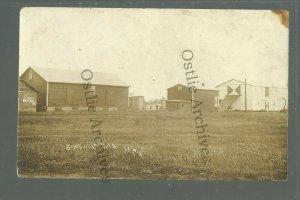 Jim Falls WISCONSIN RPPC 1912 MAIN STREET Warehouse nr Chippewa Falls Bloomer