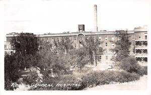 E63/ Regina Saskatchewan Canada RPPC Postcard c40s General Hospital