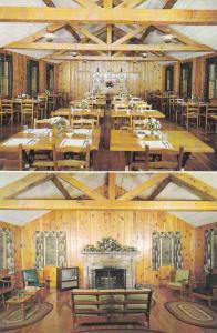 2-Views, The Ranch Motel & Restaurant, Blowing Rock, North Carolina, 1940-1960s