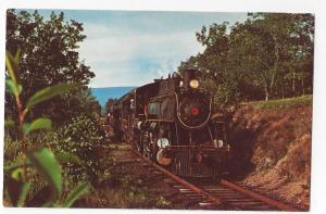 Train Railroad Postcard WK&S Wanamaker Kempton & Southern RR