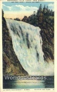 Montmorency Falls Quebec Canada Unused