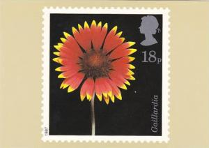 Stamps Flowers Gaillardia House of Questa London England