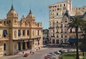 MONTE-CARLO, Monaco, PU-1977; Le Casino Et L'Hotel De Paris