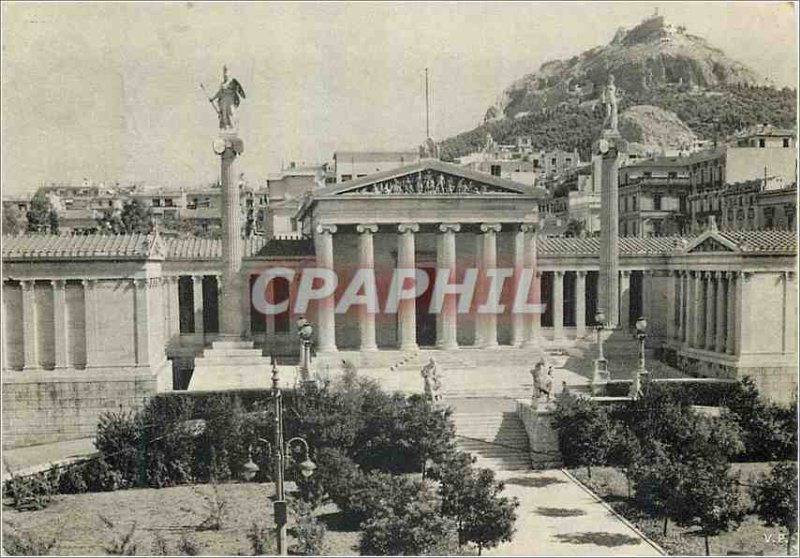 Modern Postcard The Academy of Athens