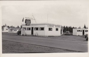 Canada New Brunswick Pennfield Ridge McKay's Cabins & Diner Real Photo sk5173