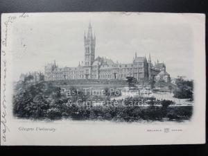 Glasgow University (UB) c1903 Pub by Reliable Series