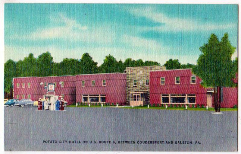 Potato City Hotel Coudersport Galeton Pa
