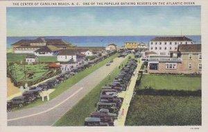 North Carolina The Center Of Carolina Beach One Of The Popular Bathing Resort...