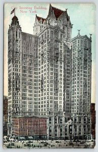 New York City~Investing Building~Later Benenson~165 Broadway~Razed 1968~1910 PC