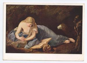 Bussende Magdalena Painting Batoni Penitent Magdalene