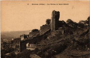 CPA GIVORS Les Ruines de St-Gerald (462315)