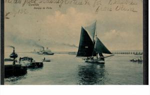 OSTENDE, West Flanders, Belgium; Barque de Peche, 00-10s