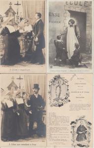 RELIGION CATHOLIC CATHOLIQUE 1000 CPA IN BOX (mostly pre-1940)
