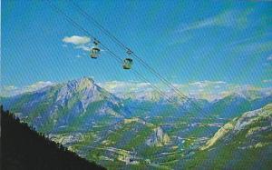 Canada Alberta Banff Sulphur Mountain Gondolas