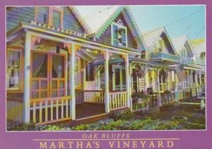 Massachusetts Martha's Vineyard Oak Bluffs Gingerbread Houses 1990