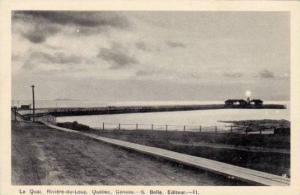 Le Quai, Riviere-du-Loup, Quebec, Canada, 1910-1920s