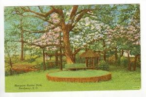 Margaret Hunter Park, Newberry, South Carolina, PU-1942
