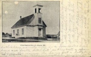 Free Baptist Church in Blaine, Maine