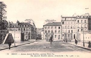 Brest France Admiral Rouillere Avenue Brest Admiral Rouillere Avenue