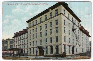 Bangor, Me, Penobscot Exchange Hotel