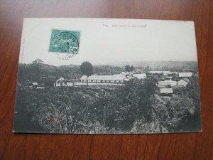 French Indo China Postcard Used 1907 Postmark Bac-kan Backan