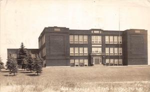 B81/ Center City Minnesota Mn Real Photo RPPC Postcard 1946 High School