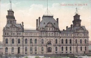 Canada St John Custom House