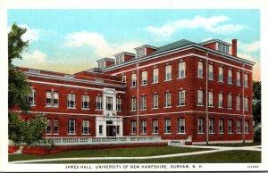New Hampshire Durham James Hall University Of New Hampshire Curteich