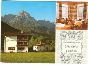 Fruhstuckspension Gasslerhof LEISACH, Austria unused Postcard