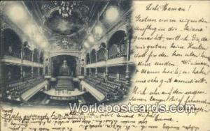 Geneve Swizerland, Schweiz, Svizzera, Suisse Interieur du Victoria Hall  Inte...