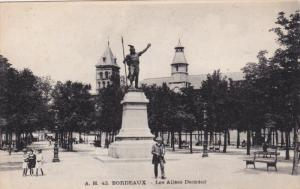 BORDEAUX, Gironde, France, 1900-1910's; Les Allees Damour