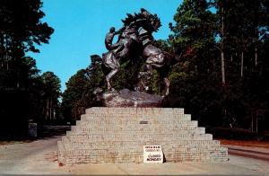 South Carolina Myrtle Beach Brookgreen Gardens Fighting Stallions