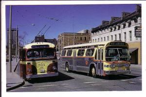 Hamilton Street Railway, City Hall, Hamilton, Ontario, Trolley Bus