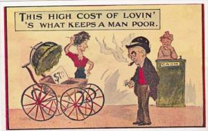Humour This High Cost Of Lovin' 's What Keeps A Man Poor