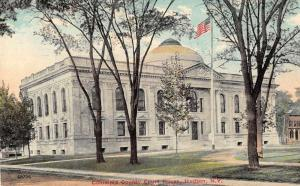Hudson New York Court House Antique Postcard J53131
