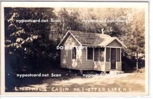 RPPC, Lighthouse Cabin No.1, Otter Lake NY