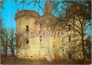 Postcard Modern Rouffignac (Dordogne) Chateau de l'Herm (15th Century)