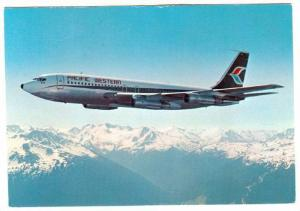 PACIFIC WESTERN Airlines 707 Jet Airplane , Commercial Issue, 50-70s