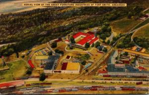 Arkansas Fort Smith Aerial View Of The Furniture Industries 1943