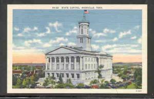 Tennessee colour PC  State Capitol, Nashville, Tenn unused