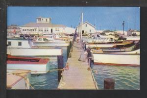 Matthew's Boat Basin,Port Aranas,TX Postcard