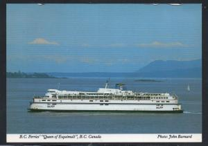 Colour PC BC Ferries Queen of Esquimalt unused